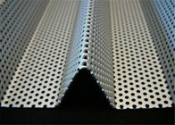 3mm Thick  Aluminum Perforated Metal , Powder Coated Perforated Alum Sheet AA1100