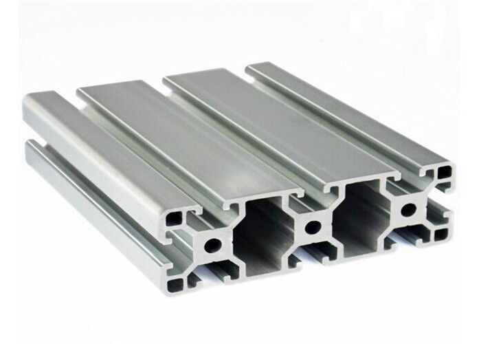 EN AW 6060 Standard Aluminum Extrusions Heat Treated Shape Optional