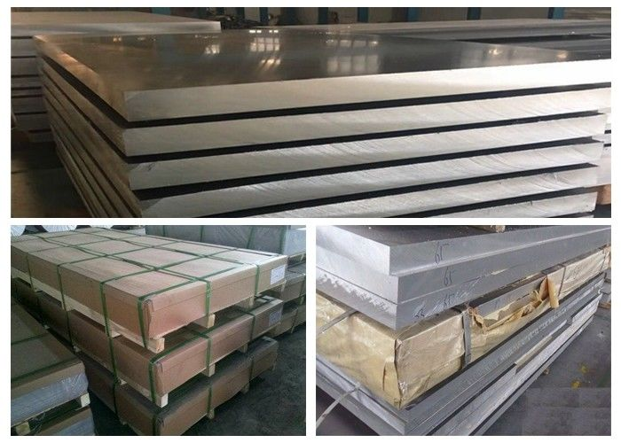 EN AW 6101A 6101 Aluminum Alloy Plate For Electrical Conductivity / Cooling Equipment