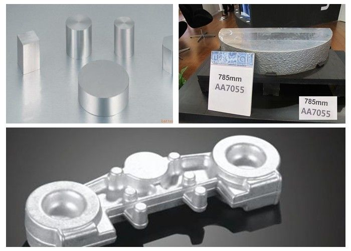 Truck Hub Aluminium Forged Products Billet AlCu4Mg1 A2024 EN AW 2024